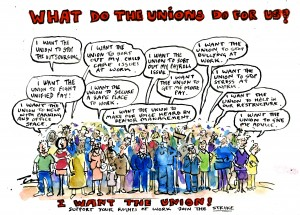 what do the unions do for us